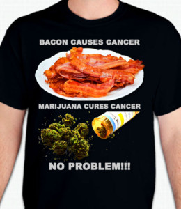 Bacon Marijuana T-Shirt or Sweatshirt