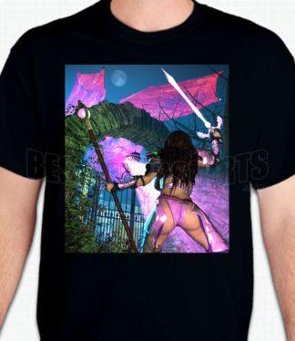 Warrior Goddess T-Shirt or Sweatshirt