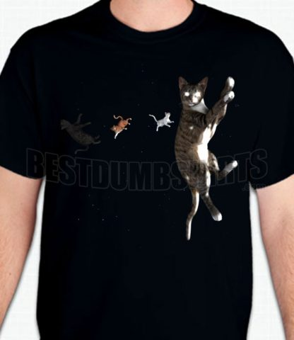 Cats In Space T-Shirt or Sweatshirt