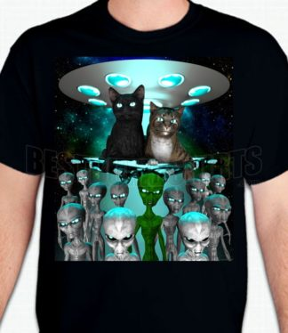 Alien Cat Lords T-Shirt or Sweatshirt