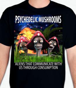 Psychedelic Mushrooms T-Shirt or Sweatshirt