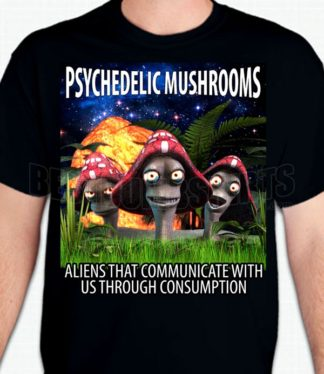 Psychedelic Mushrooms T-Shirt or Sweatshirt
