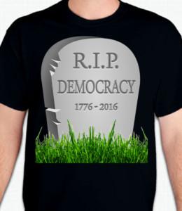 RIP Democracy T-Shirt or Sweatshirt