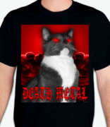 Death Metal Cat T-Shirt or Sweatshirt