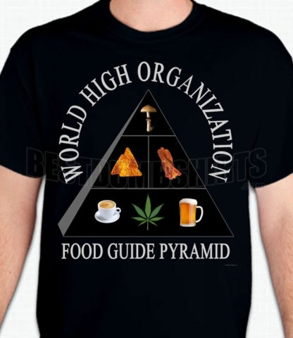 Food Guide Pyramid T-Shirt or Sweatshirt