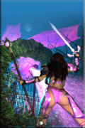 Warrior Goddess Poster